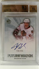 2011-12 SP Authentic Brandon Saad Future Watch RC Auto /999 BGS 9.5 / 10 Auto