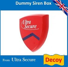 Decoy Alarm Siren Box (Dummy) & Flashing LED