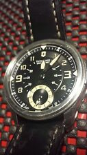 VICTORINOX Men's Swiss Army 241377 INFANTRY VINTAGE MECHANICAL WATCH BLACK