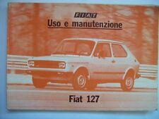 LIBRETTO USO E MANUTENZIONE FIAT 127 L - FIAT 127 C - FIAT 127 CL ( m26-2 )