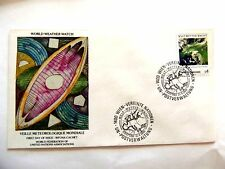 """April 21st,1989 """"Veille Meteorogique Mondiale"""" WFUNA Cache First Day Issue Lot#2"""