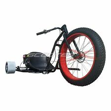 ScooterX Motorized Gas Powered 6.5 HP Drift Trike Big Wheel Steel Frame