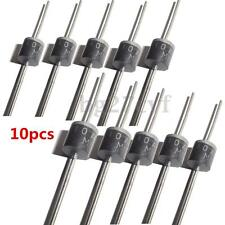 10X MIC 10A 1000V Axial Rectifier Blocking Diode Schottky For DIY Solar Panel