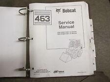 Bobcat 463 skid loader repair & service manual