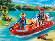 Playmobil Inflatable Boat With Explorers 5559