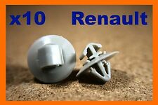 10 renault master kangoo porte carte panneau de fixation plastique clips