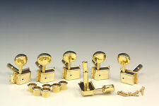 Kluson Vintage Lockheads Tuners Mechaniken Gold
