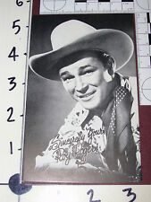 Roy Rogers 1950s Arcade/Exhibit Card - Sharp / Excellent shape - TV Western