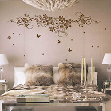 Vine Flower Butterfly Tree Wall Art Stickers / Wall Decals / Wall Art 22