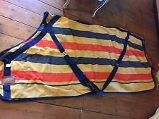 NEWMARKET STRIPE HORSE RUG MULTI PURPOSE RUG stable travel rug 6'6""