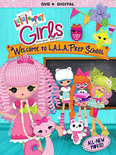Lalaloopsy Girls: Welcome to L.A.L.A. Prep School (DVD, 2014)