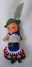 Alte Puppe Püppchen mit Tracht Trachenpuppe Schwarzwald