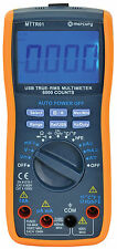 high accuracy lab multimeter true RMS with USB port windows software student etc