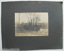 Arlington, Ma. 1899 Photograph - B&M Railroad Tracks, Path to Boat Club