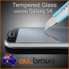 2x Tough Tempered Glass Screen Protector for Samsung Galaxy S4 i9500