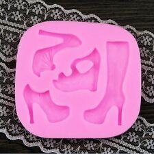 Silicone Fondant Mould Cake Decorating  Mold Sugarcraft  sugarpaste shoes