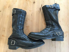 Lewis Leathers Vintage 1970's Motorcycle boots sz5-5.5UK Ladies