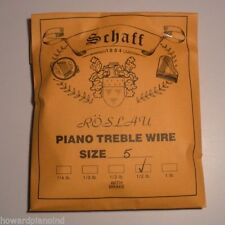 Piano Music Wire Roslau 1/2 lb coil Choose Size 5-11
