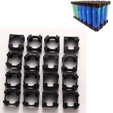 100pcs 18650 Li-ion Battery Holder Safety Spacer Radiating Bracket Storage Shell