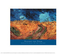 """""""Wheatfield with Crows, 1890"""" by Vincent van Gogh -Fine Art Print - 16 x 20"""