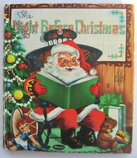 THE NIGHT BEFORE CHRISTMAS Tell a Tale Book ~ Zillah Lesko ~ Vintage Children's