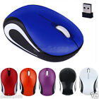 2000DPI Wireless Optical Mouse Mice +USB Receiver For PC Laptop Desktop Computer
