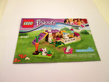 Lego Friends Instruction Booklet 41087 MANUAL ONLY Book
