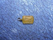 Huber MFG. Co. Maintainer Tractor Small Key Fob