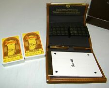Vintage Double Deck Kahlua Maidstone Advertising Playing Cards Bridge Set NEW