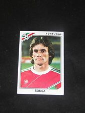 Image sticker panini MEXICO 86 N° 392 SOUSA  PORTUGAL  WORLD CUP 1986