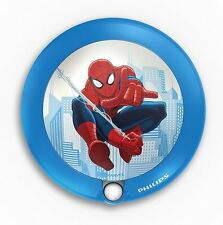 Philips Marvel Spider-Man Childrens Sensor Night Light 1 X 0.06 W Integrated Le