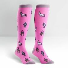Sock It To Me Women's Knee High Socks - Tri-fecta of All That is Awesome