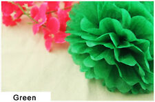 6'' Wedding Party Home Birthday Tissue Paper Pom Poms Flower Ball Décor Color 10