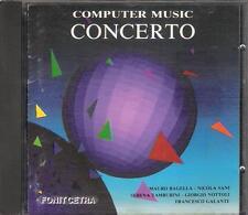 """MAURO BAGELLA - RARO CD FUORI CATALOGO 1989 """" COMPUTER MUSIC CONCERTO """""""
