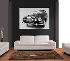 CLASSIC JAGUAR 420 G CAR Giant Wall Art Print Picture Poster