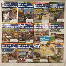 2009 MODEL RAILROADER Magazine Complete Year 12 issues + 1   1979