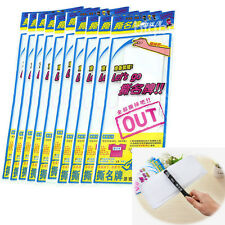 10 Pack For Running Man SBS Korea Game Name Plate/Tag Sticker + One Pen as gift