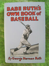 BASEBALL BOOK SIGNED BY BABE RUTH WITH PSA/DNA LETTER - Copy 388 of 1000