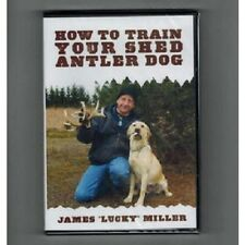 "How to Train Your Shed Antler Dog DVD by James ""Lucky"" Miller"