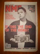 NME 1993 AUG 21 NEW ORDER U2 ELASTICA PUMPKINS SENSER