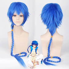 120cm MAGI Aladdin braid Cosplay Anime party Hair Wig heat resistant Z136