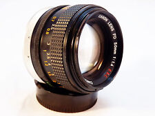 Vintage Canon FD 50mm f/1.4 SSC Camera Lens ~ Nice Lens!