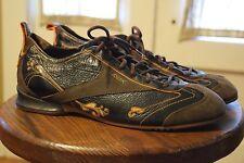 Reebok RBK Fashion Oxford Bowling Style Shoes Men's Size 11 Black Brown Lea