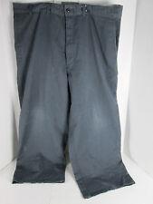 "CornerStone Work Pants 40"" 24"" Inseam Loose Fit Gray  Poly/Cotton Blend SKU J T"