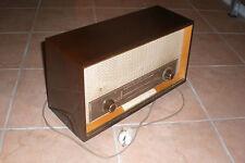 Antiguo tubos radio Grundig Type a principios 2355 60er desván buen estado