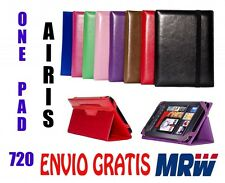 "FUNDA  AIRIS  ONE PAD 720   7"" - MEDIDA ESPECIAL - 8 COLORES - UNIVERSAL"