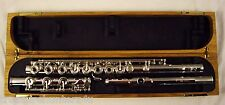 VERNE Q. POWELL SIGNATURE SERIES SILVER FLUTE OPEN HOLE INLINE G LOW B NICE