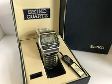 Seiko C359-500  Chrono Alarm  Calculator Quartz LCD Watch