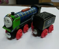 LOOSE LEARNING THOMAS WOODEN MAGNETIC TRAIN- PATCHWORK HIRO + TENDER