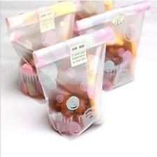 100x Chocolate Cookies Favor Candy Cello Bags Small Frosted Pouch Gift Wraps